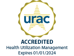 urac Accredited Health Utilization Management; Expires 01/01/2018